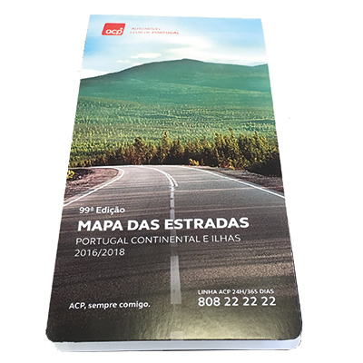 acp mapa de portugal Loja ACP. Mapa ACP 99ª Edição 2016/2018 acp mapa de portugal