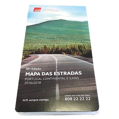 mapa acp portugal Loja ACP. Mapa ACP 99ª Edição 2016/2018 mapa acp portugal