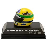 Imagem de Miniatura Capacete Ayrton Senna escala 1:8